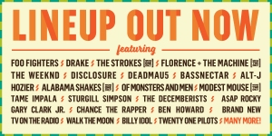 Lineup ACL Fest 2015